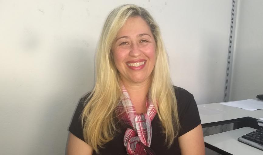 A psicóloga Lu de Pádua, que hoje atende na APAE de São Sebastião do Paraíso,  foi responsável pela implantação do CRAS no município